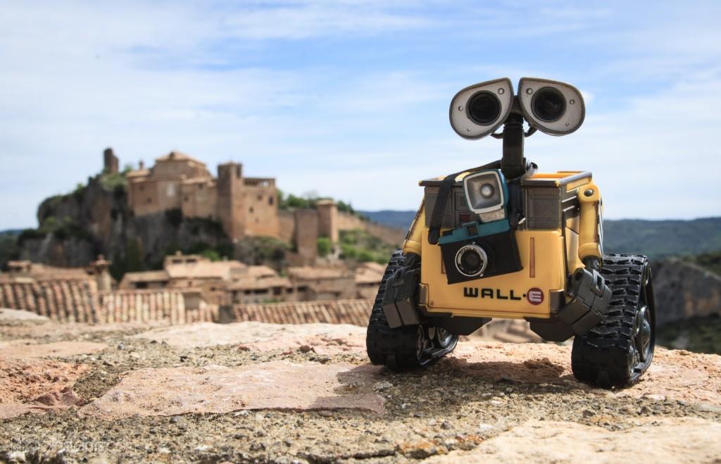 Wall-E en Alquézar