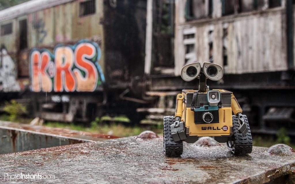 Wall-E en la Estación Internacional de Canfranc