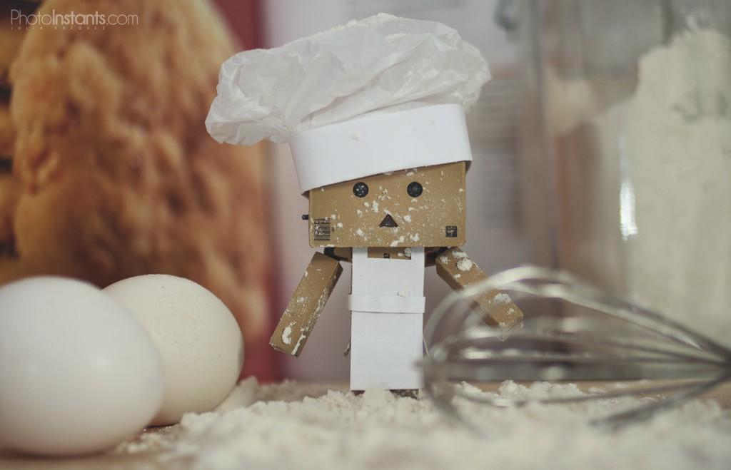 Danbo cocinero
