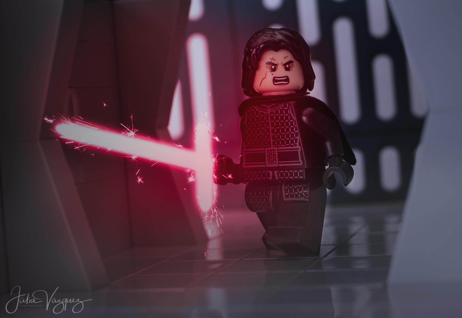 Kylo Ren y el poder del Lado Oscuro