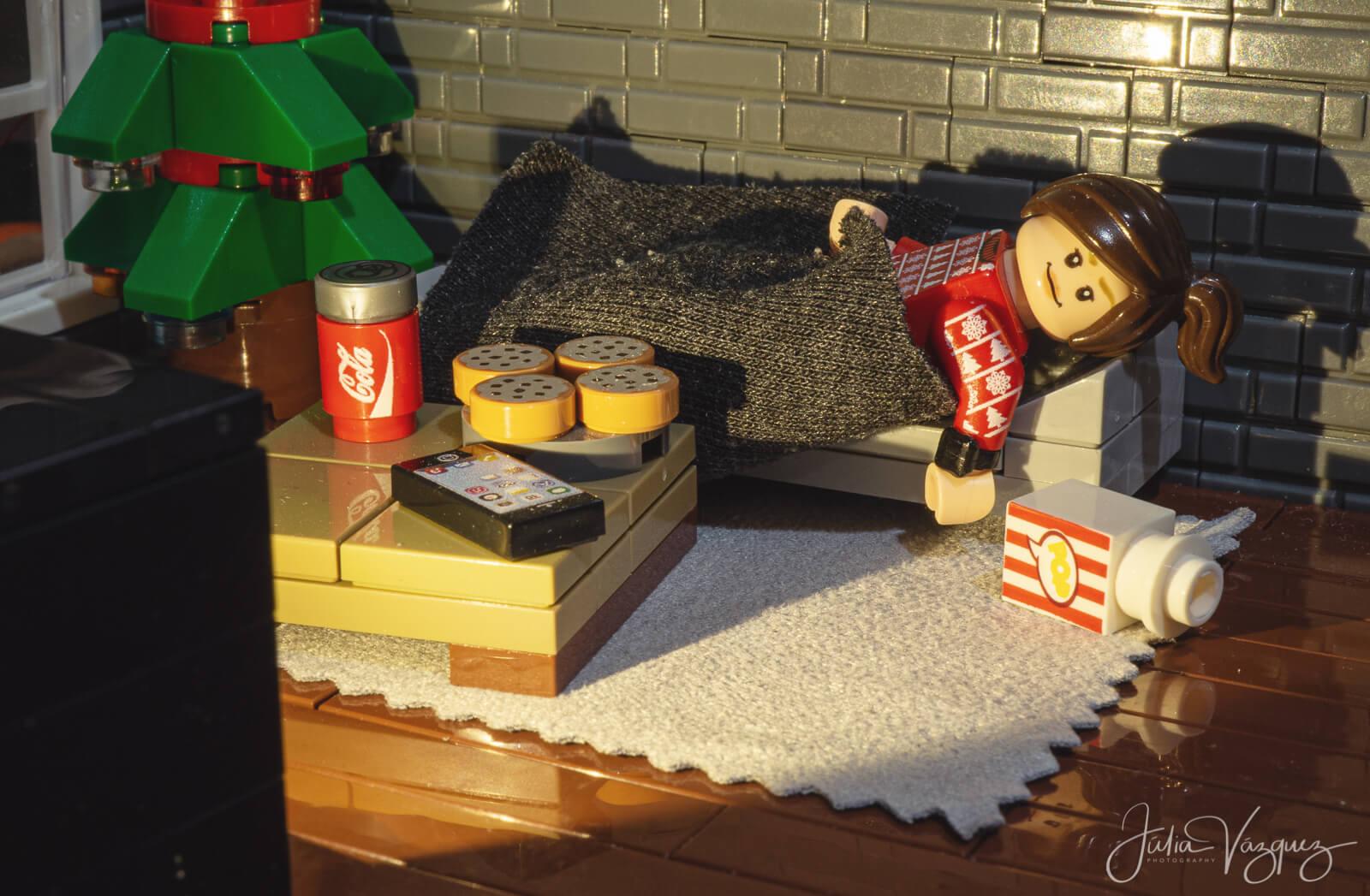 Domingo de peli, sofá y mantita